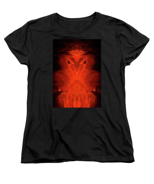 Abstract Bird 01 Women's T-Shirt (Standard Cut) by Scott McAllister