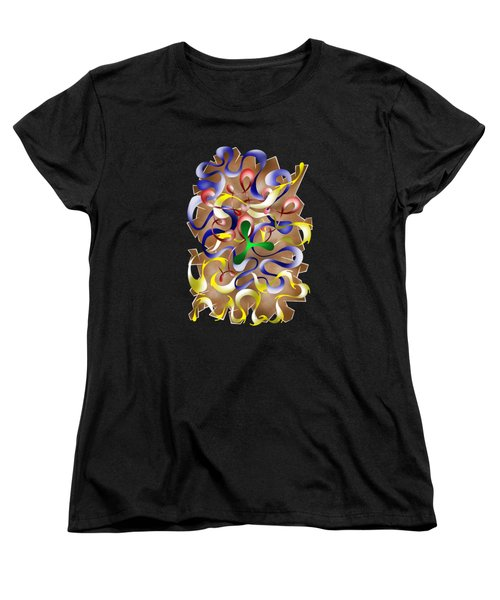 Abstract Digital Art - Jamurina V2 Women's T-Shirt (Standard Cut) by Cersatti