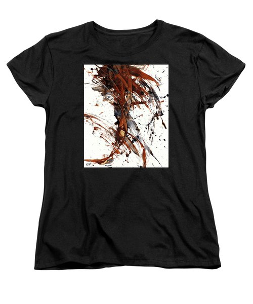 Abstract Expressionism Series 51.072110 Women's T-Shirt (Standard Cut) by Kris Haas