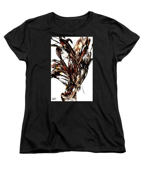 Abstract Expressionism Series 58.121210 Women's T-Shirt (Standard Cut) by Kris Haas