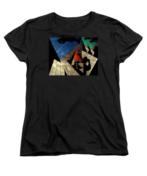 Women's T-Shirt (Standard Cut) featuring the photograph Abstract Iterations by Wayne Sherriff