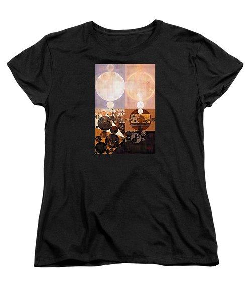 Abstract Painting - Zinnwaldite Women's T-Shirt (Standard Cut) by Vitaliy Gladkiy
