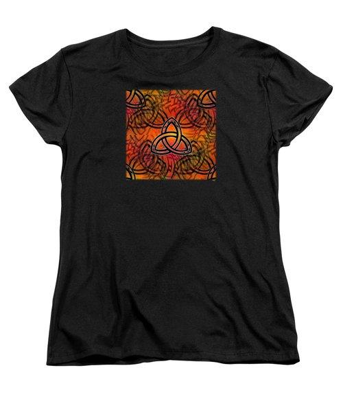 Abstract - Trinity Women's T-Shirt (Standard Cut) by Glenn McCarthy Art and Photography