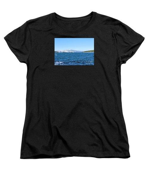 Acadia  Women's T-Shirt (Standard Cut) by Debbie Stahre