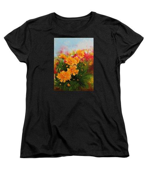 Acrylic Msc 216 Women's T-Shirt (Standard Cut) by Mario Sergio Calzi
