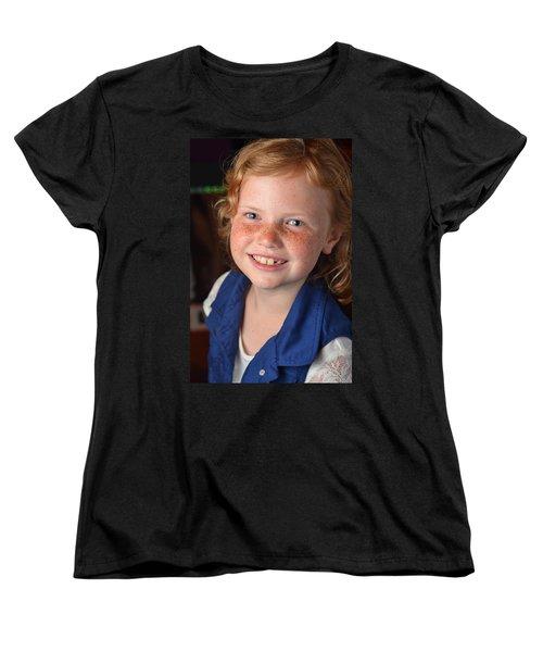 Adrianna Briggs Women's T-Shirt (Standard Cut) by Carle Aldrete