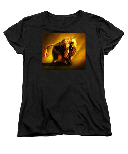 African Gelada Monkey Women's T-Shirt (Standard Cut) by John Wills