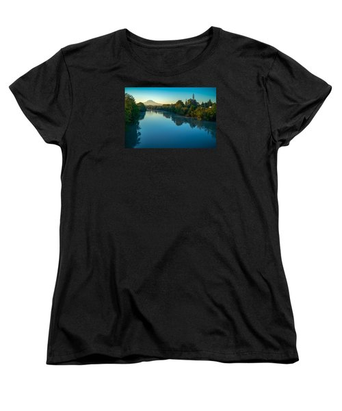 After Sunrise Women's T-Shirt (Standard Cut) by Ken Stanback