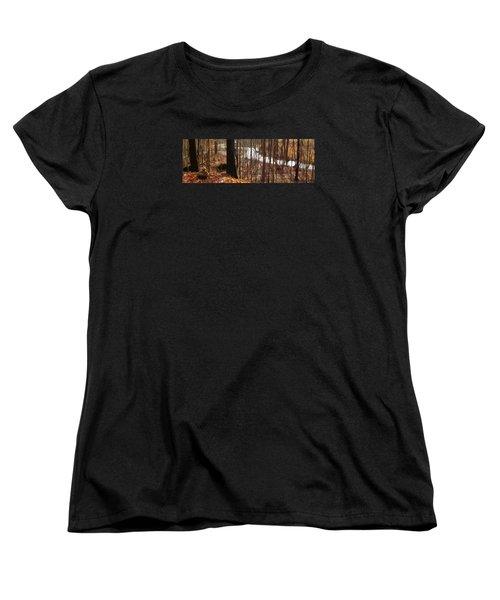Women's T-Shirt (Standard Cut) featuring the photograph After The Rain by Spyder Webb