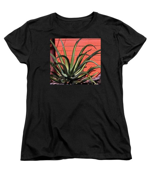 Agave Octopus Women's T-Shirt (Standard Cut) by M Diane Bonaparte