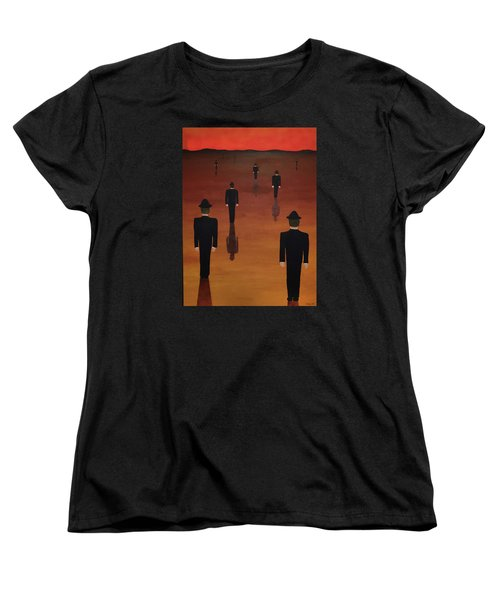 Agents Orange Women's T-Shirt (Standard Cut) by Thomas Blood