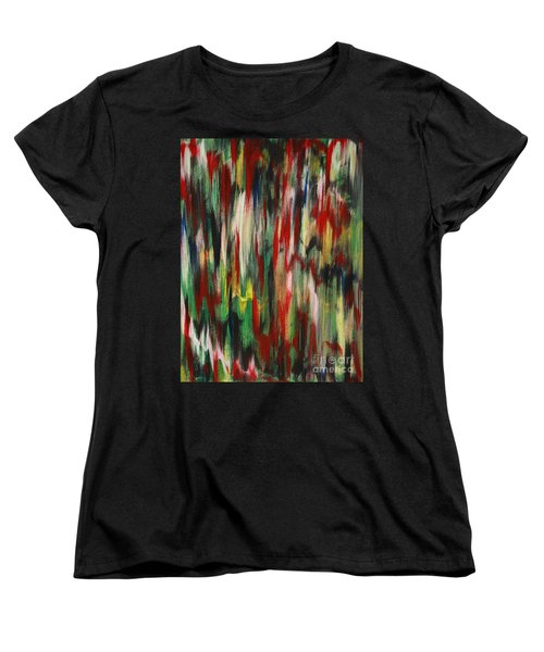 Women's T-Shirt (Standard Cut) featuring the painting Agony by Jacqueline Athmann