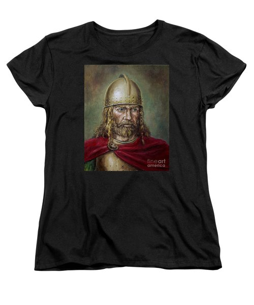 Alaric The Visigoth Women's T-Shirt (Standard Cut) by Arturas Slapsys