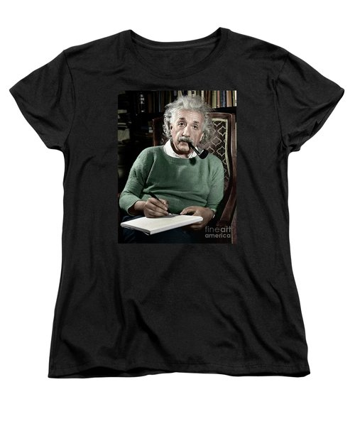 Albert Einstein Women's T-Shirt (Standard Cut) by Granger