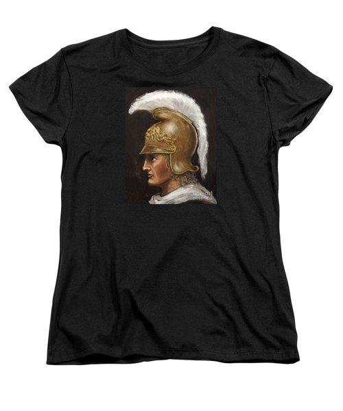 Alexander The Great Women's T-Shirt (Standard Cut) by Arturas Slapsys