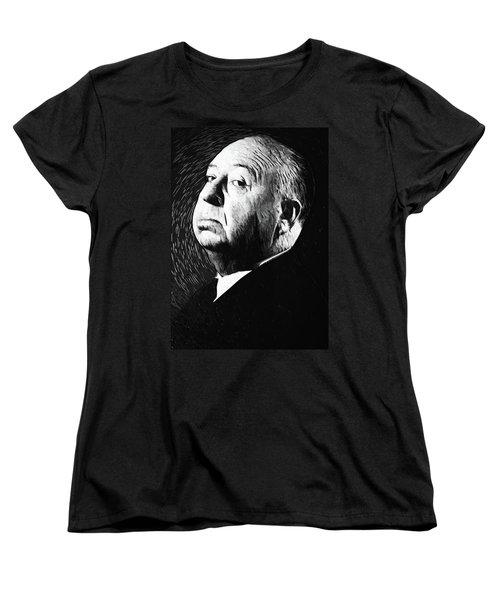 Alfred Hitchcock Women's T-Shirt (Standard Cut)