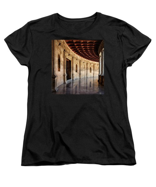 Alhambra Reflections Women's T-Shirt (Standard Cut) by Marion McCristall