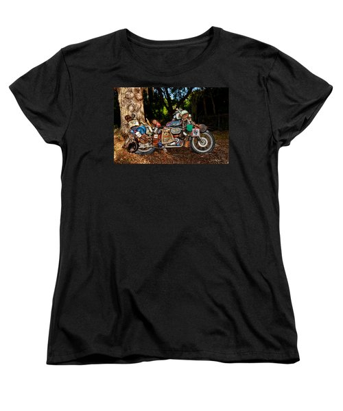All But The Kitchen Sink Women's T-Shirt (Standard Cut) by Christopher Holmes