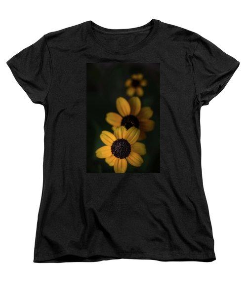 All In A Row Women's T-Shirt (Standard Cut) by Peter Scott
