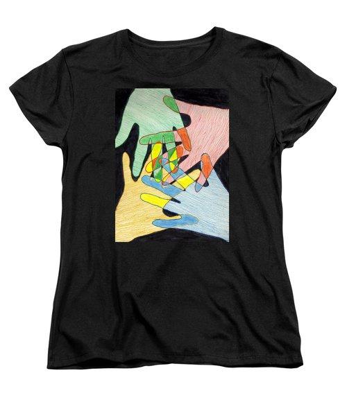 All In Women's T-Shirt (Standard Cut) by Jean Haynes