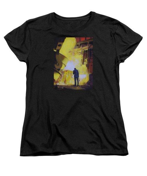 Allen Town Women's T-Shirt (Standard Cut) by Vivien Rhyan