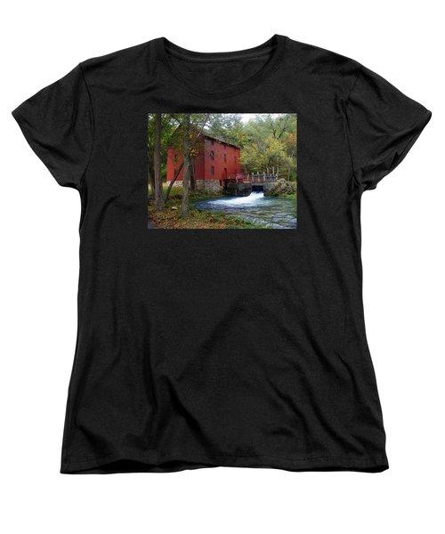 Alley Sprng Mill 3 Women's T-Shirt (Standard Cut) by Marty Koch