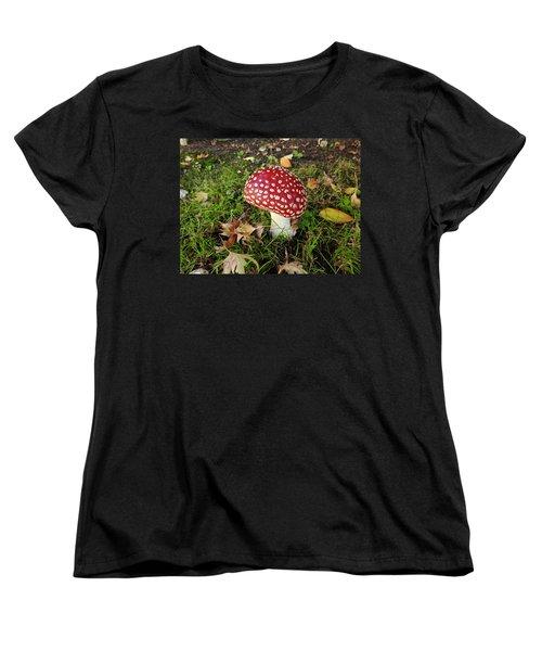 Amanita Mascara Women's T-Shirt (Standard Cut) by Brian Chase
