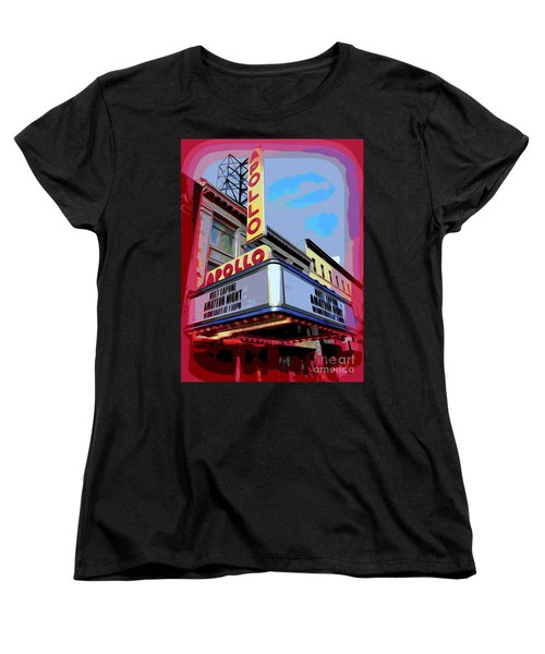 Amateur Night At The Apollo Women's T-Shirt (Standard Cut) by Ed Weidman