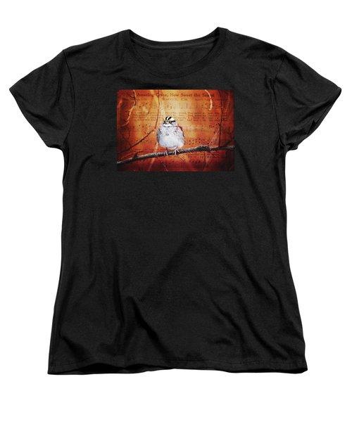 Amazing Grace Women's T-Shirt (Standard Cut) by Trina Ansel