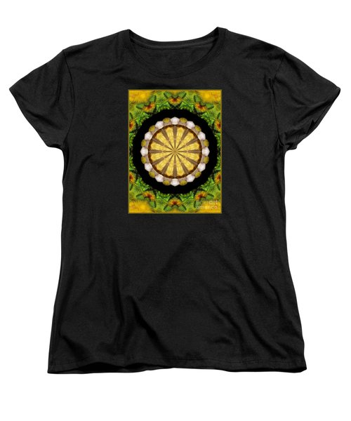 Women's T-Shirt (Standard Cut) featuring the photograph Amazon Kaleidoscope by Debbie Stahre