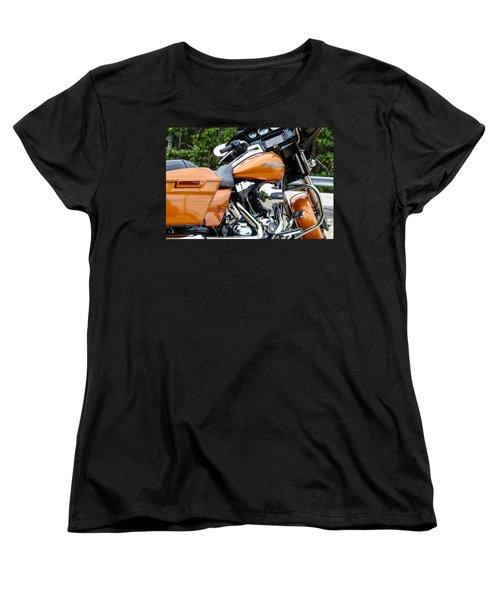 Amber Whiskey Glide Women's T-Shirt (Standard Cut) by John McArthur
