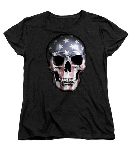 American Skull Women's T-Shirt (Standard Fit)