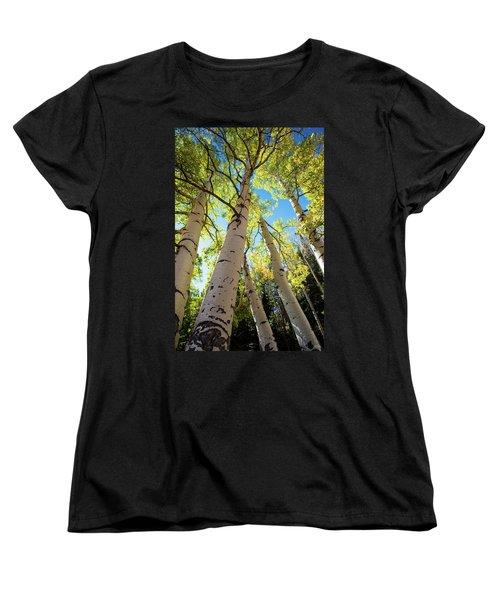 Aspen Dance Women's T-Shirt (Standard Cut) by Dana Sohr