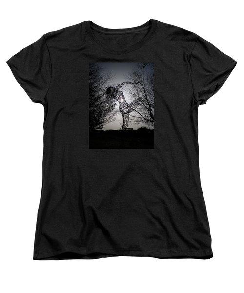 An Eclipse Of The Heart? Women's T-Shirt (Standard Cut) by Richard Brookes