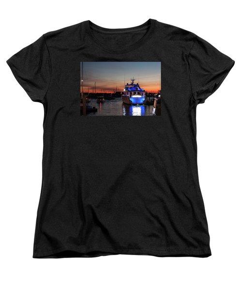 Women's T-Shirt (Standard Cut) featuring the photograph An Evening In Newport Rhode Island II by Suzanne Gaff