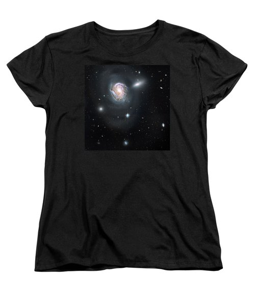Women's T-Shirt (Standard Cut) featuring the photograph An Island Universe In The Coma Cluster by Nasa