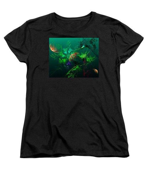 An Octopus's Garden Women's T-Shirt (Standard Cut)