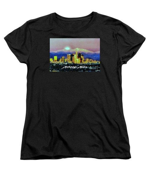 Anchorage-subdued Women's T-Shirt (Standard Cut)