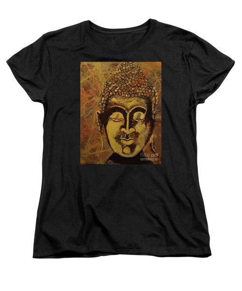 Women's T-Shirt (Standard Cut) featuring the painting Ancient Textures by Stuart Engel