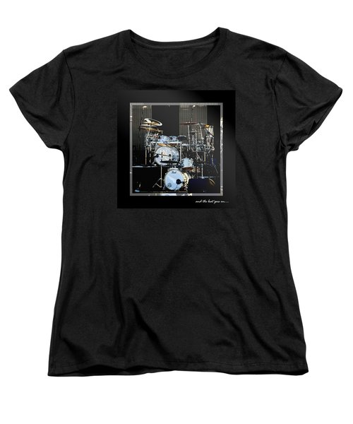 And The Beat Goes On.... Women's T-Shirt (Standard Cut) by Holly Kempe