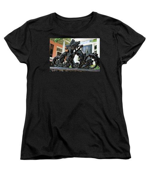 Angel Gate Women's T-Shirt (Standard Cut) by Ed Waldrop
