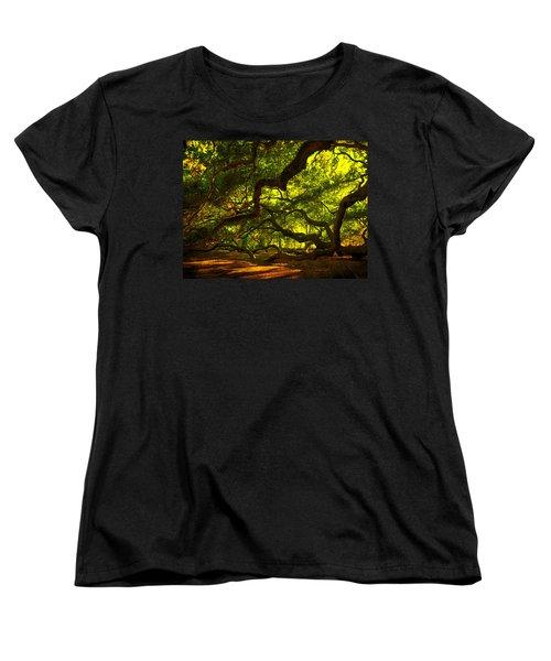 Angel Oak Limbs 2 Women's T-Shirt (Standard Cut)