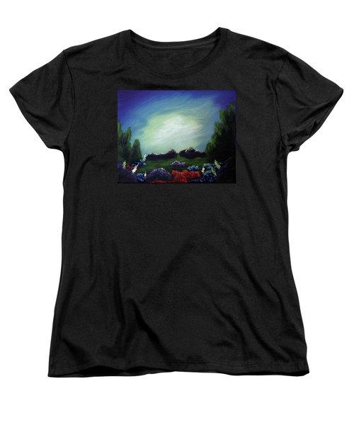 Angel On The Rocks Women's T-Shirt (Standard Cut)