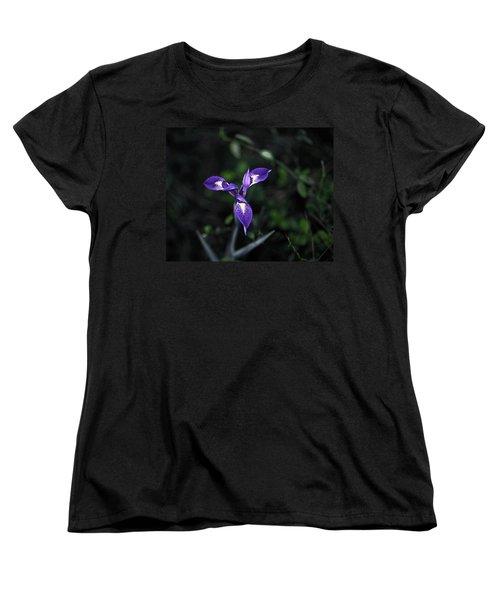 Angelpod Blue Flag Women's T-Shirt (Standard Cut) by Sally Weigand