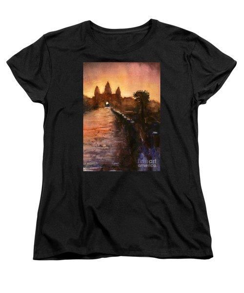Angkor Wat Sunrise 2 Women's T-Shirt (Standard Cut)