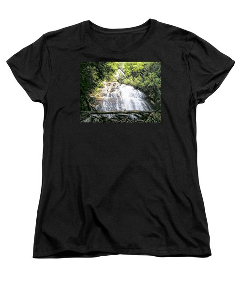 Women's T-Shirt (Standard Cut) featuring the photograph Anna Ruby Falls by Jerry Battle