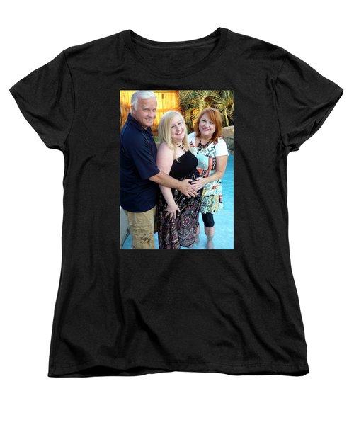 Annah With Parents Women's T-Shirt (Standard Cut) by Ellen O'Reilly
