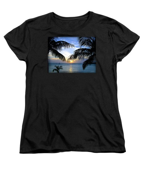Another Key West Sunset Women's T-Shirt (Standard Cut) by Joan  Minchak