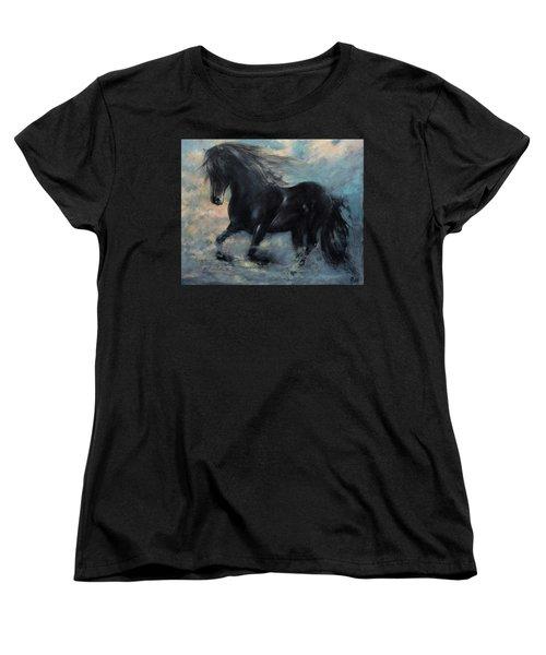 Another Kind Of Flight Women's T-Shirt (Standard Cut) by Vali Irina Ciobanu