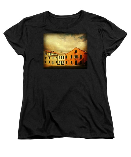 Women's T-Shirt (Standard Cut) featuring the photograph Another Malamocco Day by Anne Kotan